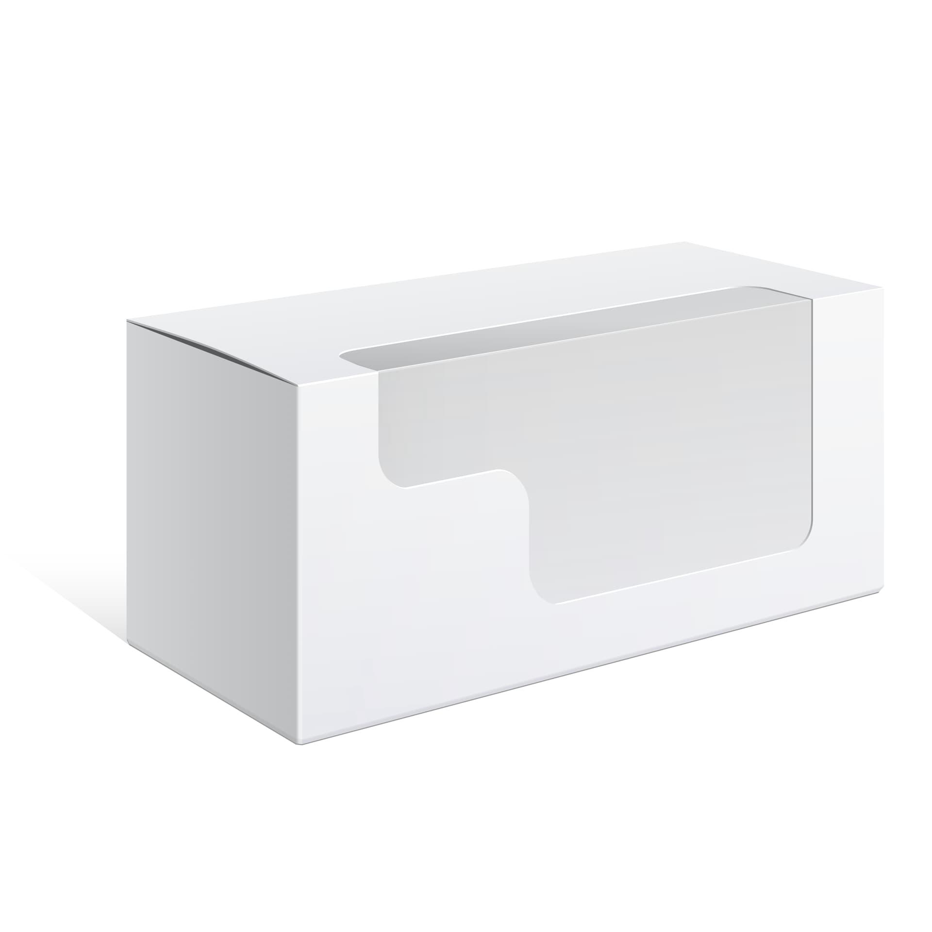 Embalagem Retangular com Visor Diferente